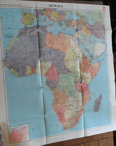 Velhagen&Klasing Afrika, Maßstab 1:10 Millionen