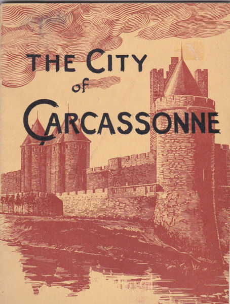 Viollet-le-Duc The City of Carcassonne. A reprint published under the direction fo Michael Jordy