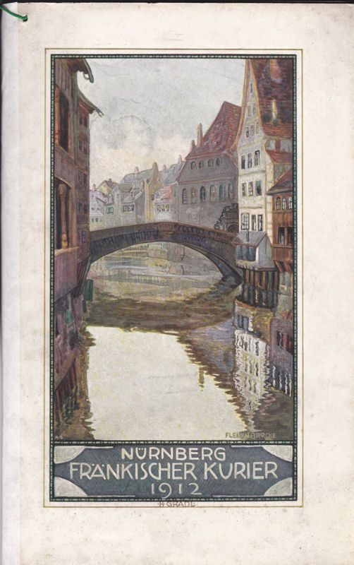 Fränkischer Kurier Nürnberg Kalender 1912