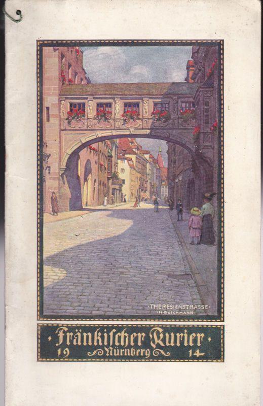 Fränkischer Kurier Nürnberg Kalender 1914
