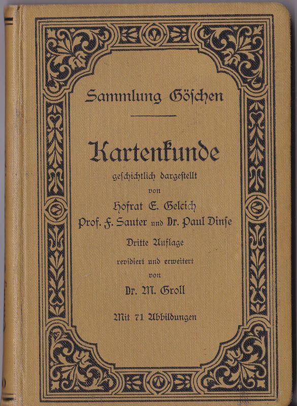 Gelcich, E., Sauter, F. und Dinse, Paul Kartenkunde
