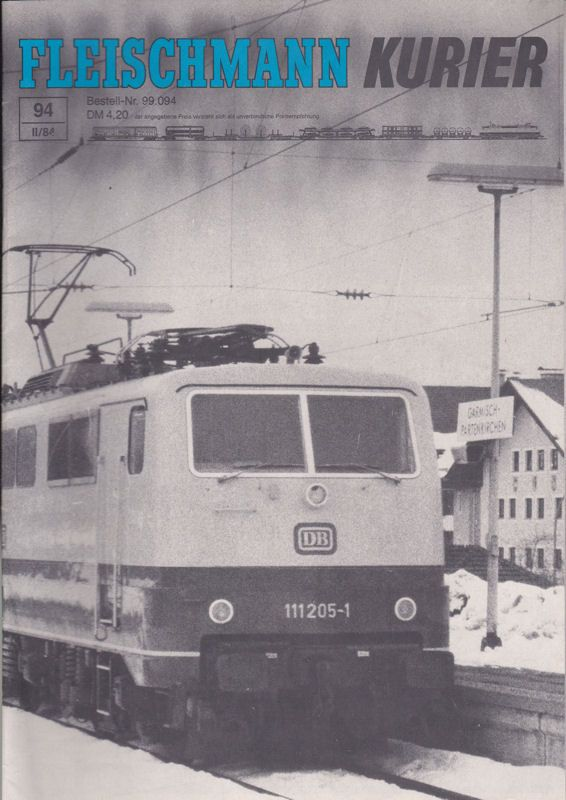 Fleischmann, Gebr. (Hrsg.) Fleischmann Kurier, 2/ 1984