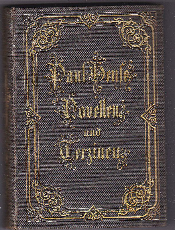 Heyse, Paul Novellen und Terzinen VII (7)