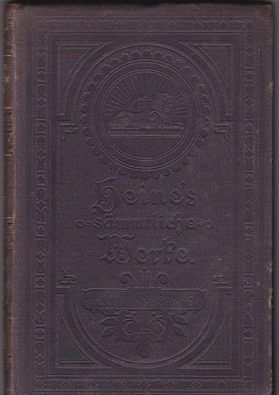 Heine, Heinrich Heinrich Heine's sämmtliche Werke Bibliothek-Ausgabe, Band 1 (apart)