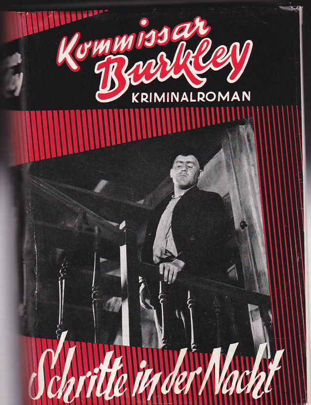 Kommisar Burkley Schritte in der Nacht. Kriminalroman