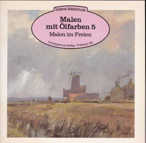 Gilman, Peter Malen mit Ölfarben 5