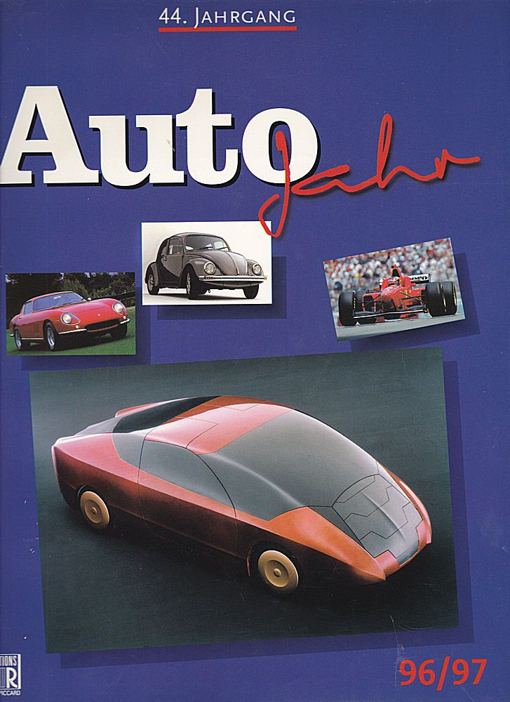 Piccard, Jean-Rodolphe (Hrsg) Auto-Jahr 96/97, 44. Jahrgang