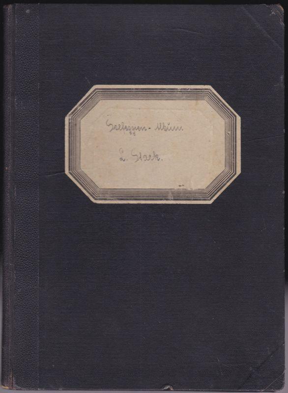 Stark, L. Solfeggien-Album. Ausgabe für Sopran und Tenor. 70 auserlesene und bewährte Gesangsetüden von concone, Mazzoni, Aprile u. a.