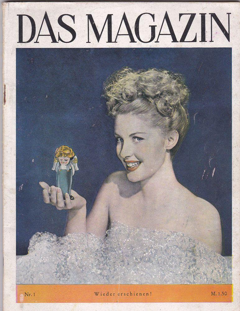 Koebner, F.W. (Hrsg.) Das Magazin. Nr.1 der Neuauflage 1949