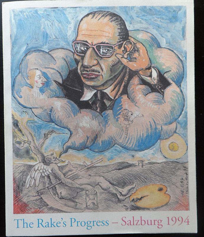 Salzburger Festspiele (Hrsg) Salzburger Festspiele 1994: The Rake's Progress. Igor Strawinsky