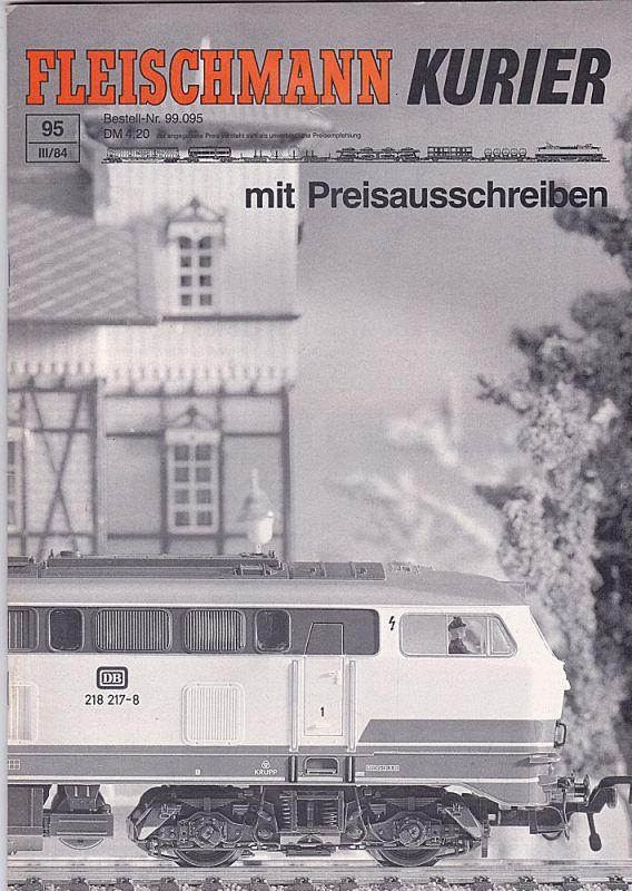 Fleischmann, Gebr. (Hrsg.) Fleischmann Kurier, 3/ 1984