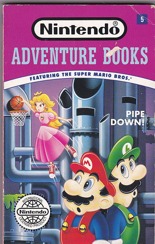 Bosco, Clyde Pipe Down! (Nintendo Adventure Books No.5. Featuring the Super Marion Bros.)