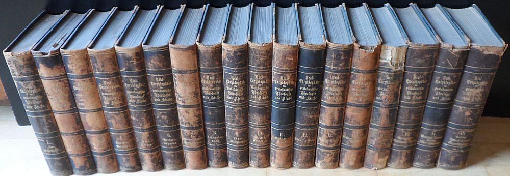 Herzog, J.J. und Plitt, G.T. Real-Encyklopädie für protestantische Theologie und Kirche