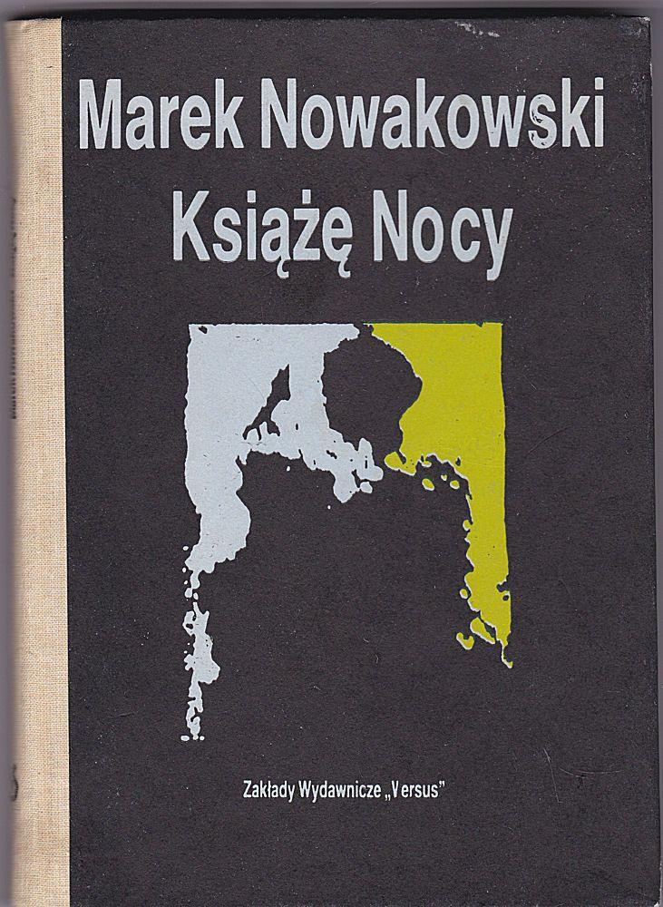 Nowakowski, Marek Ksiaze Nocy