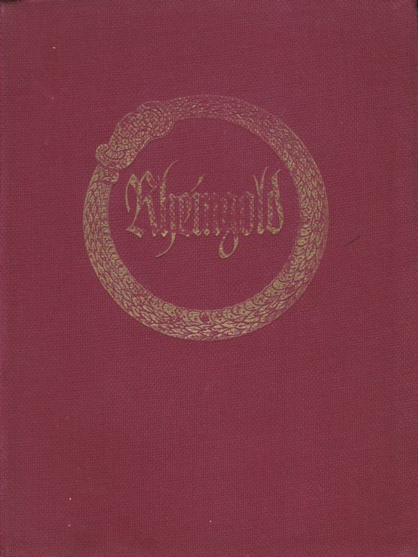 Klindworth, Karl Richard Wagner: Das Rheingold. Vollständiger Klavierauszug