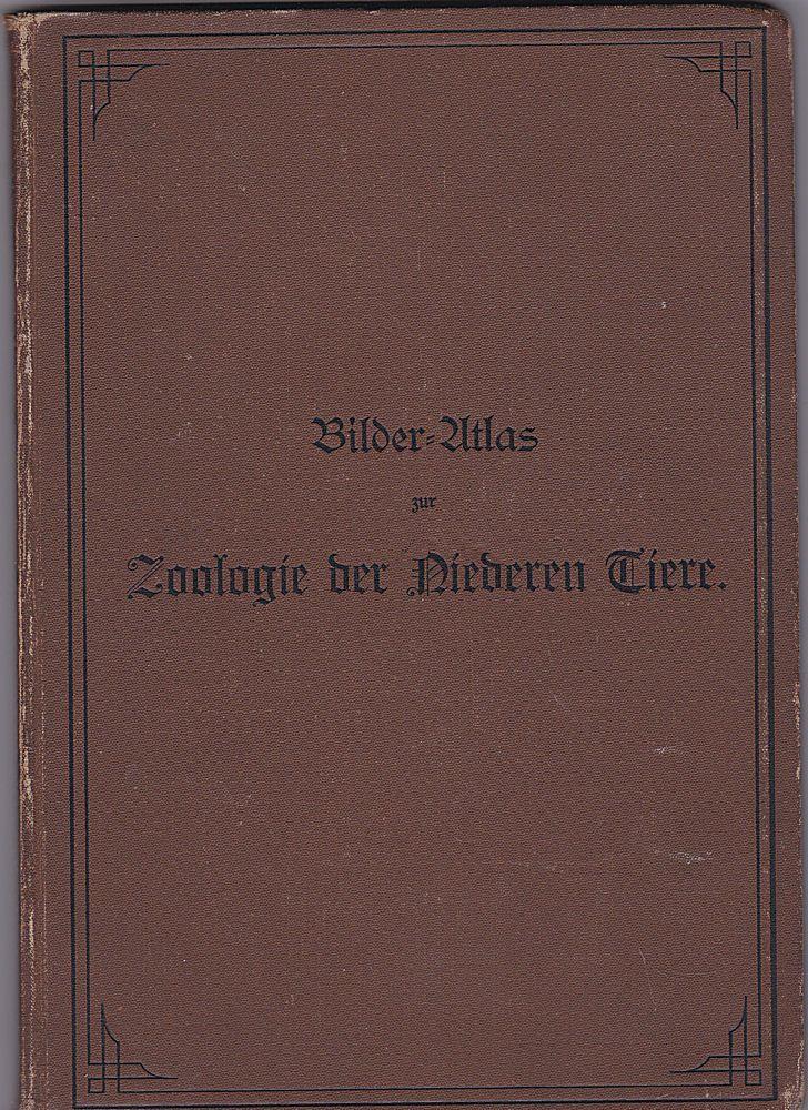 Marshall, William Bilder-Atlas zur Zoologie der Niederen Tiere. Mit beschreibendem Text