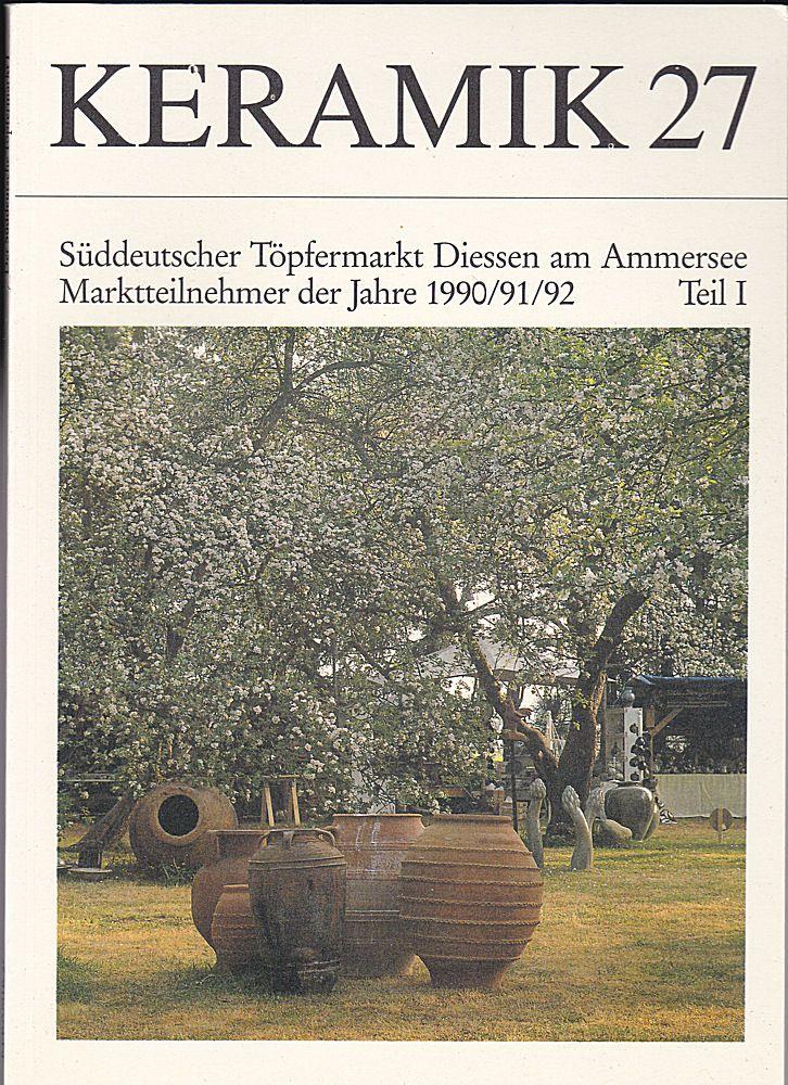 Sudau, Arthur (Hrsg) Keramik 27 Publikation für Töpfer, Sammler und Museen