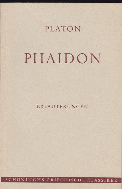Kloesel, Hans Platon: Phaidon ERLÄUTERUNGEN