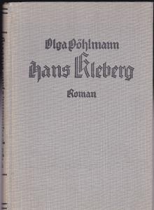 Pöhlmann, Olga Hans Kleberg. Roman