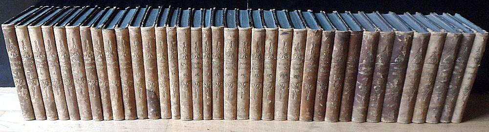 Wieland, Christoph Martin C.M. Wieland's sämmtliche Werke, 36 Bände