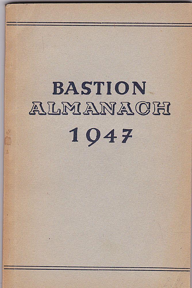 Schulte, Alabert (Hrsg) Bastion-Almanach für das Jahr 1947