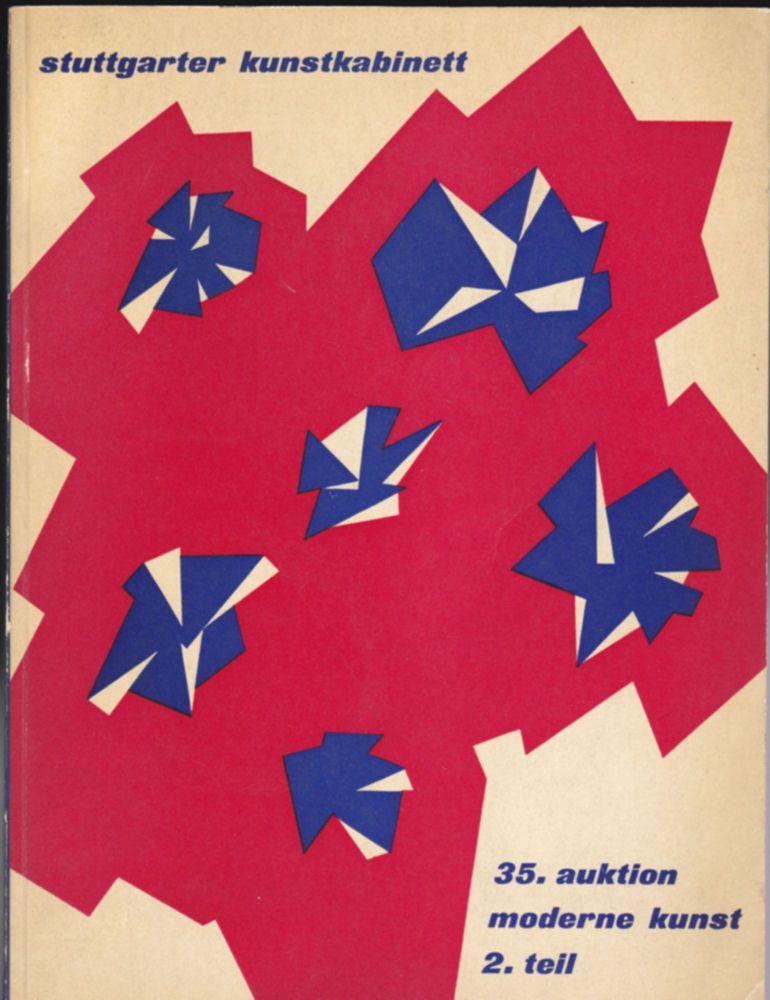 Kletterer, Roman Norbert, Stuttgarter Kunstkabinett (Hrsg) 35. auktion.moderne kunst, 2. Teil 23. und 24. mai 1960