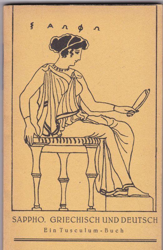 Rupé, Hans Sappho. Griechisch und deutsch