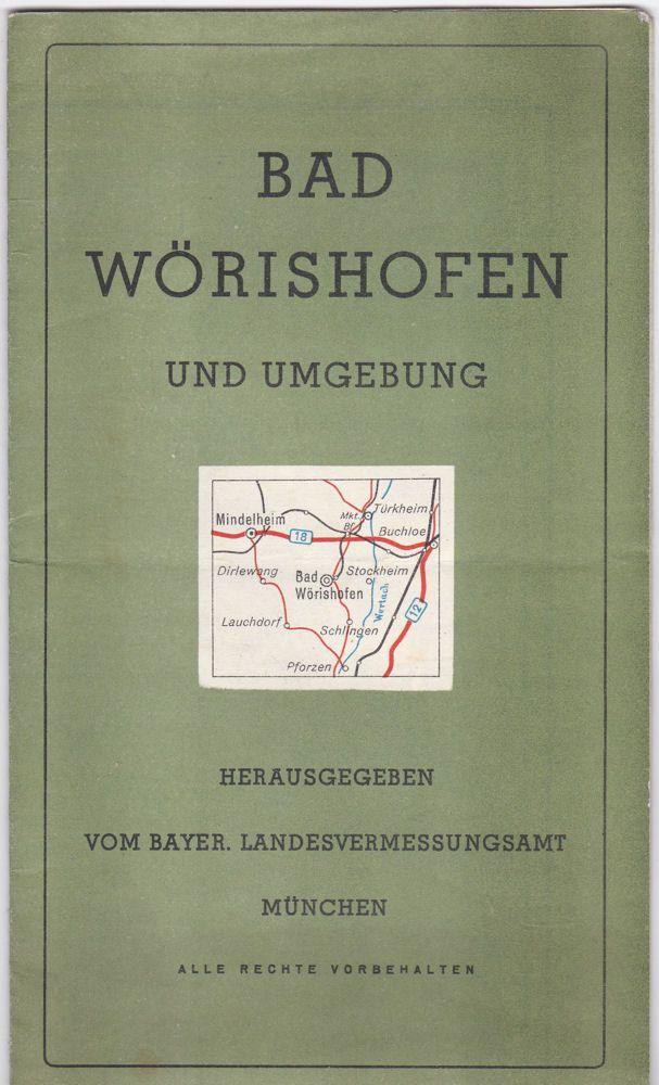 Bayerisches Landesvermessungsamt Bad Wörishofen und Umgebung 1:50.000