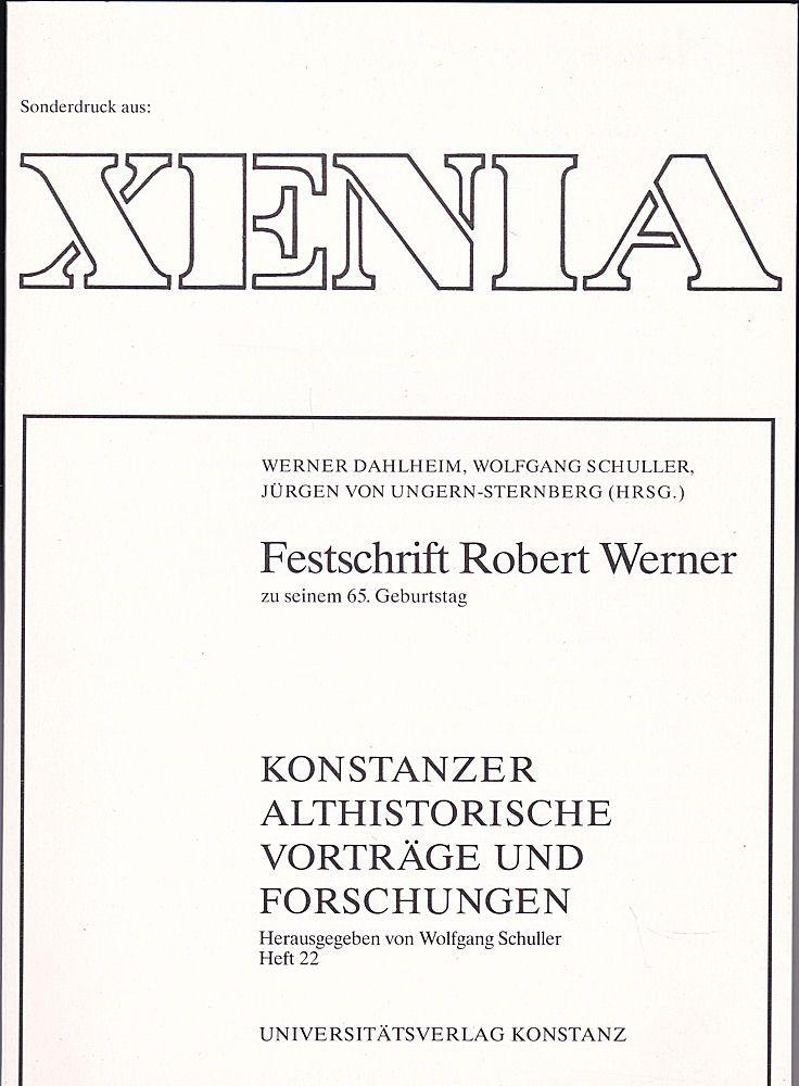 Klein, Richard Zum Verhältnis von Herren und Sklaven in der Antike. Sonderdruck aus Xenia