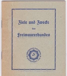 Arbeitsgemeinschaft Bayer. Bauhütten Ziele und Zwecke des Freimaurerbundes
