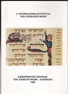 Europäisches Zentrum für Jüdische Musik-Augsburg (Hrsg) 2. Internationales Festival der jüdischen Musik
