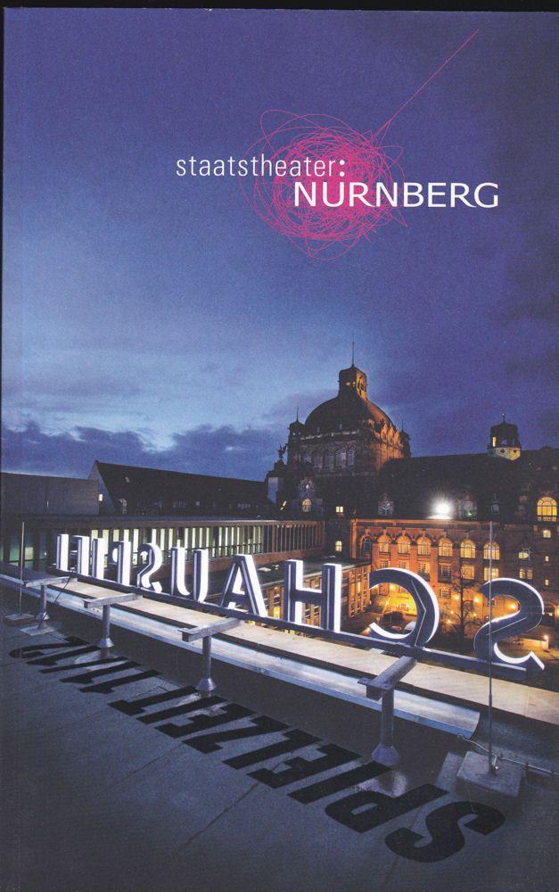 Staatstheater Nürnberg (Hrsg.) Staatstheater Nürnberg 2011/2012