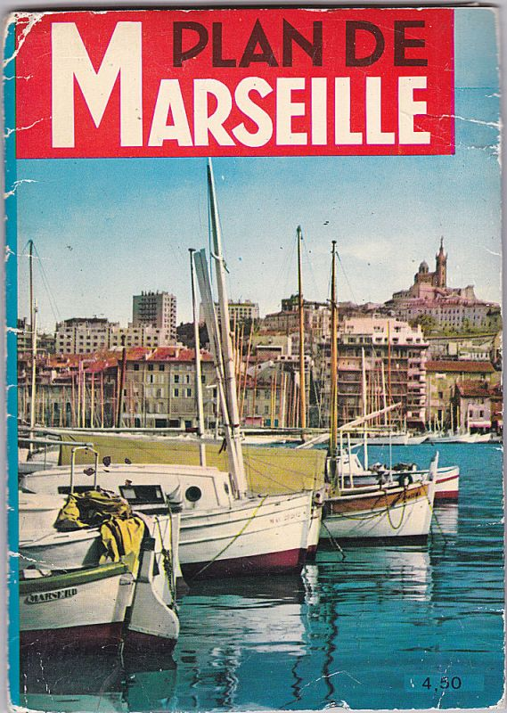 Edition Rene Espigue Plan de Marseille