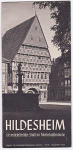 Städtisches Verkehrsamt Hildesheim (Hrsg) Hildesheim. Die mittelalterliche Stadt im Niedersachsenlande