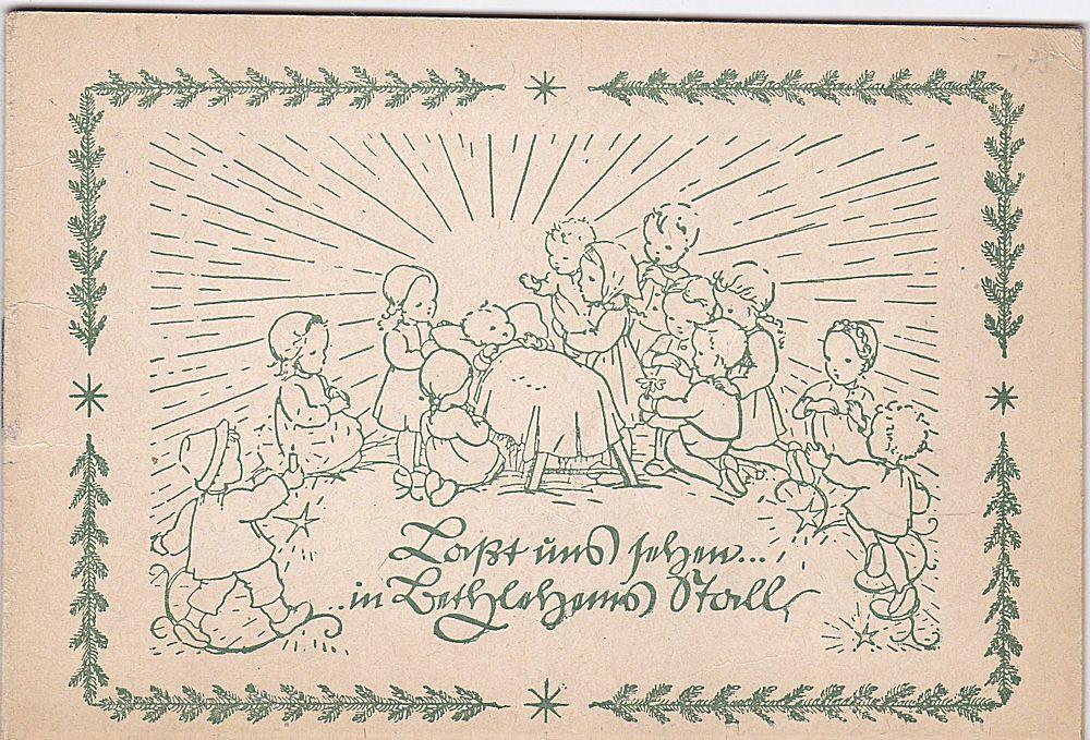 Kaufmann, Ernst (text), Dinkelacker, Elisabeth (Zeichnungen) Lasset uns sehen in Bethlehems Stall. Das Weihnachtsevangelium den Kindern erzählt