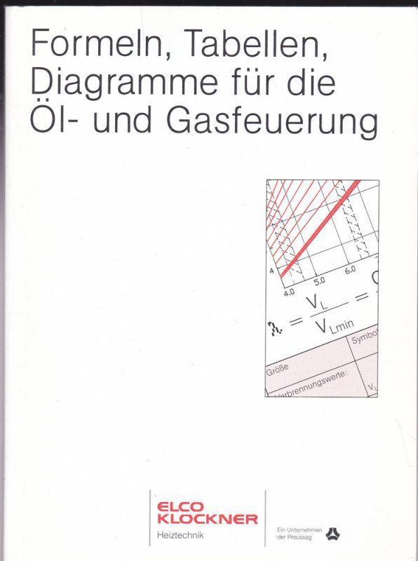 Elco Klöckner (Hrsg) Formeln, Tabellen, Diagramme für die Öl- und Gasfeuerung