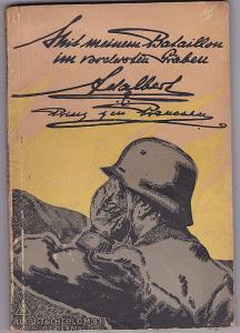 Adalbert, Prinz von Preußen Mit meinem Bataillon im vordersten Graben
