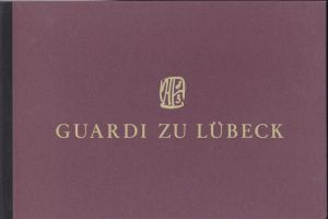 """Janssen, Horst Guardi zu Lübeck : 31 aquarellierte Federzeichnungen und 8 abgeschriebene Aufsätze aus """"Das abenteuerliche Herz"""" von Ernst Jünger"""