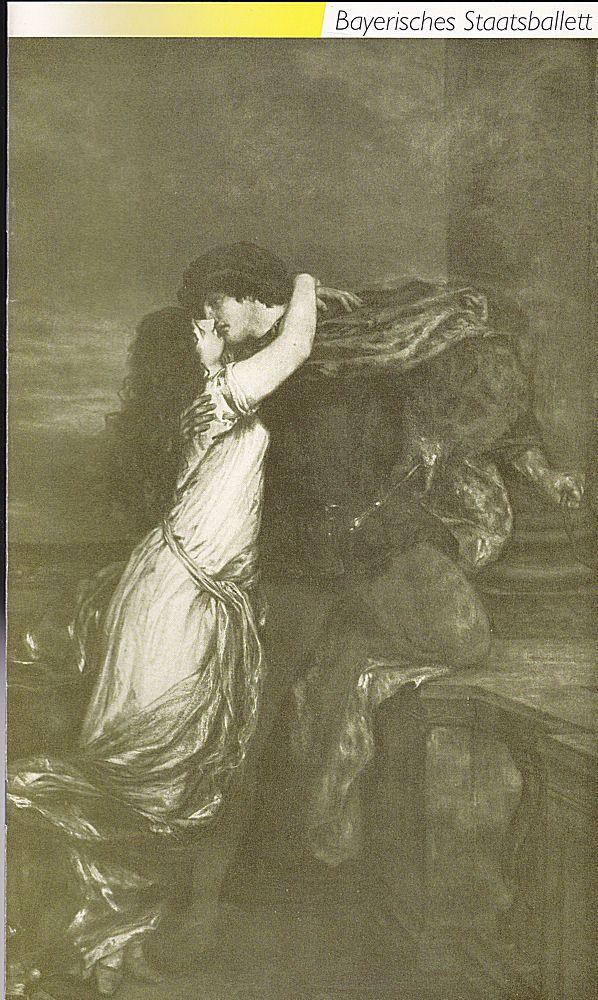 Bayerisches Staatsballett (Hrsg) Programmheft: Romeo und Julia Ballett in 3 Akten nach William Shakespeare