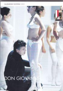 Salzburger Festspiele (Hrsg.) Programmheft Salzburger Festspiele 2002: Don Giovanni - W.A. Mozart