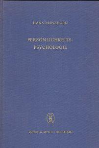Prinzhorn, Hans Persönlichkeitspsychologie