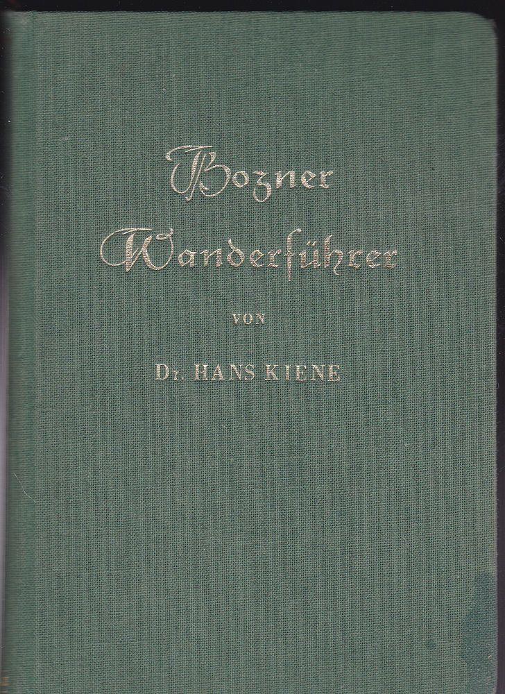 Kienle, Hans Bozner Wanderführer 0