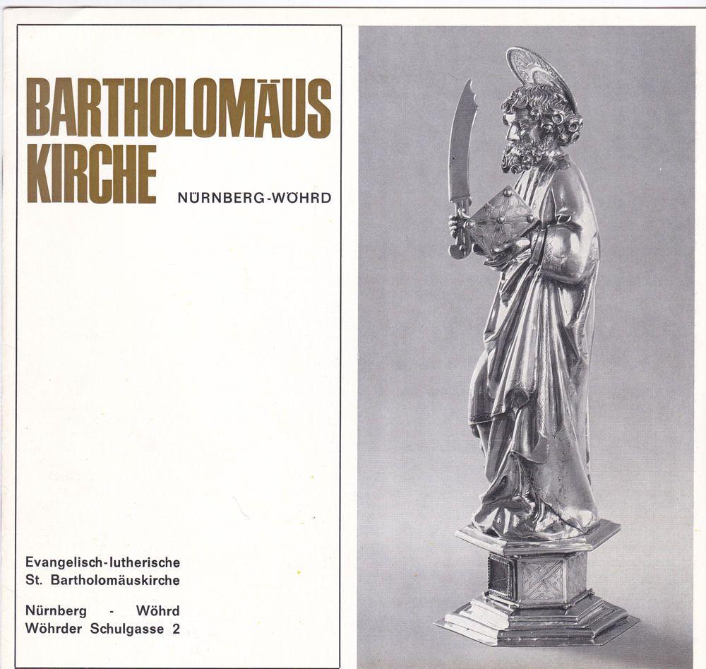 Schwemmer, Wilhelm Bartholomäuskirche Nürnberg-Wöhrd