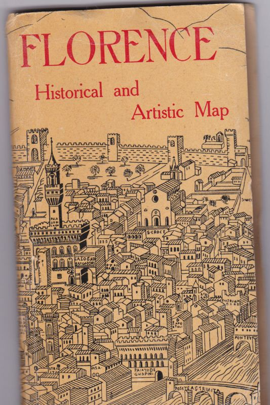 Fattorusso Florence Historical and Artistic Map