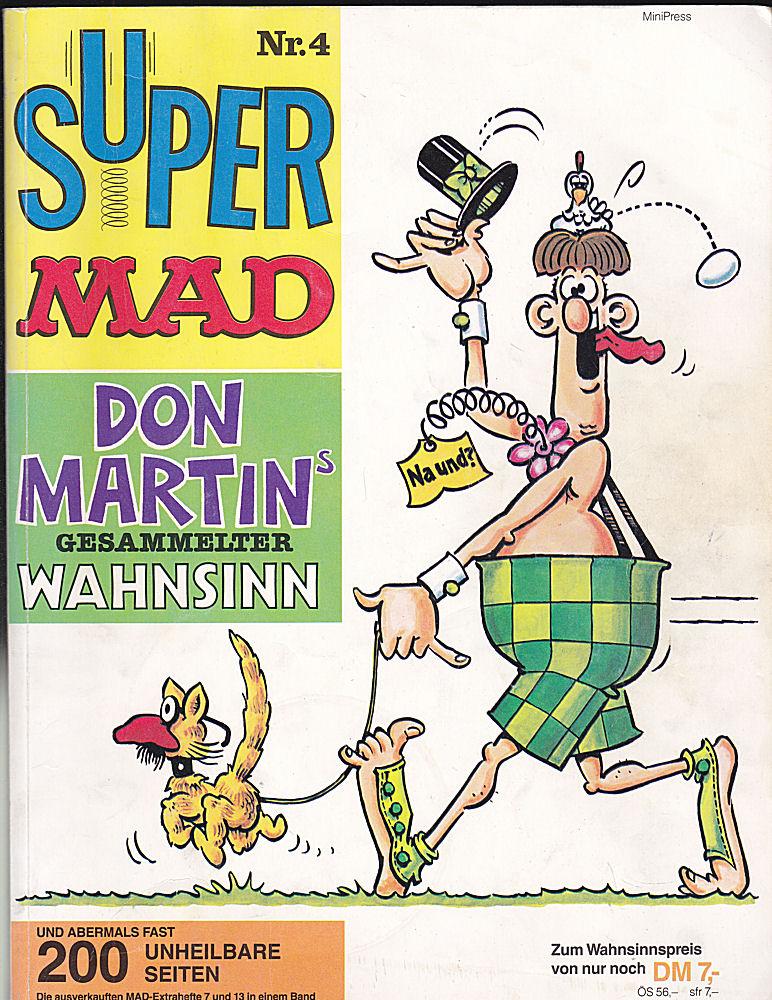 Feuerstein, Herbert Super Mad Nr.4 Don Martin's gesammelter Wahnsinn.