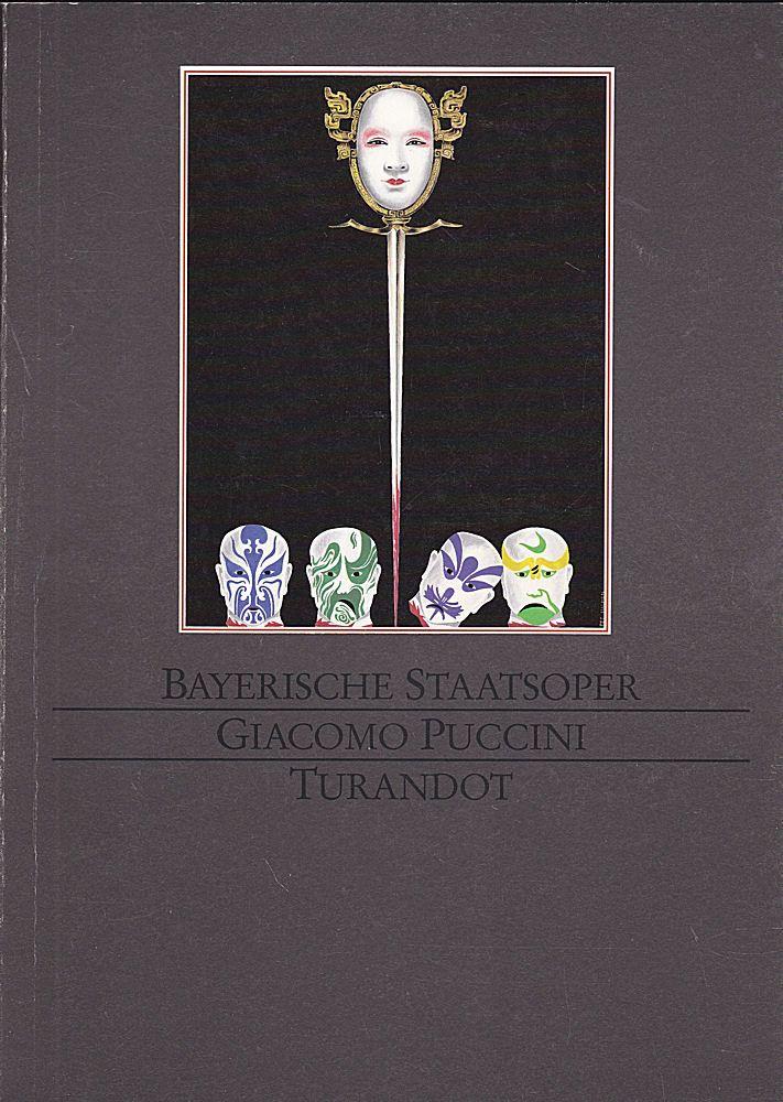 Bayerische Staatsoper Programmheft: Giacomo Puccini - Turandot