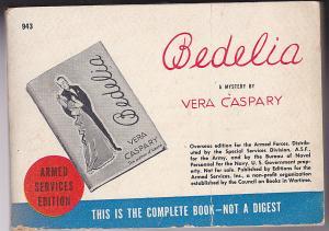 Caspary, Vera Bedelia. A Mystery. Armed Services Edition