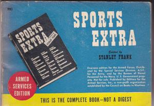 Frank, Stanley (Ed) Sports Extra. Armed Services Edition