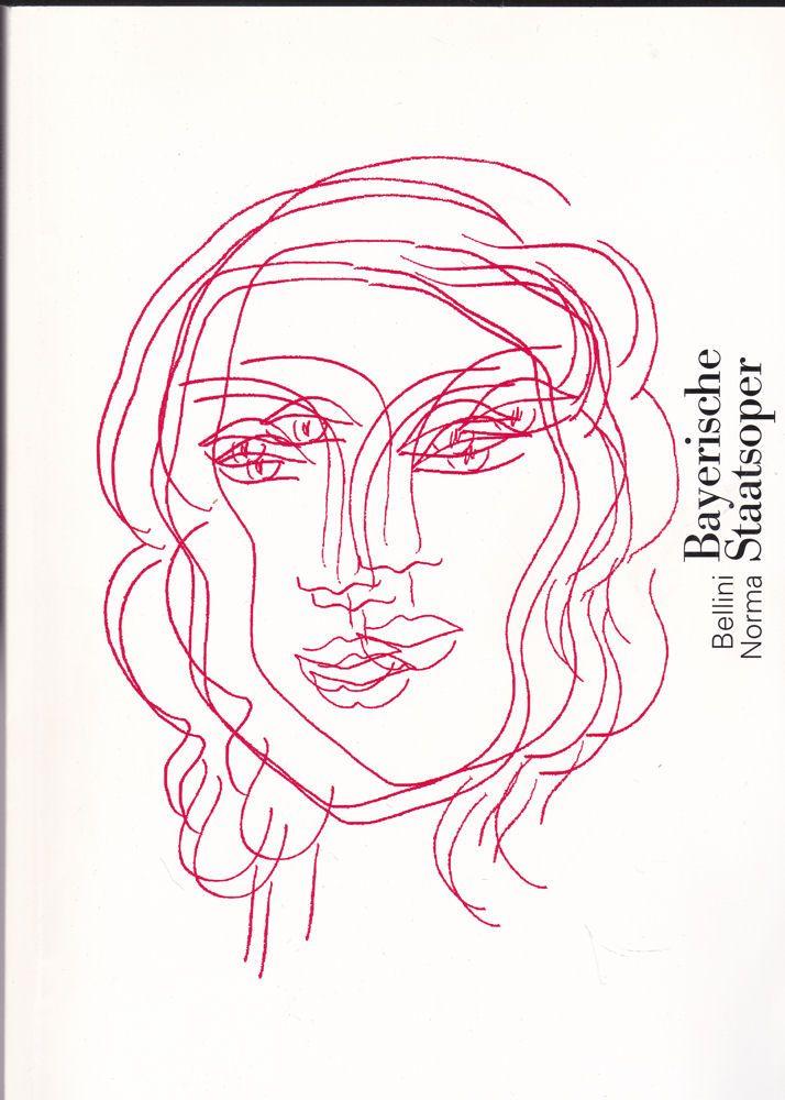 Bayerische Staatsoper Programmheft: Vincenzo Bellini - Norma. Tragica lirica in zwei Akten