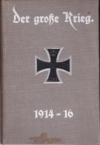 Der große Krieg. Band 8. (Heft 43-48) Eine Chronik von Tag zu Tag. Urkunden, Depeschen und Berichte der Frankfurter Zeitung.